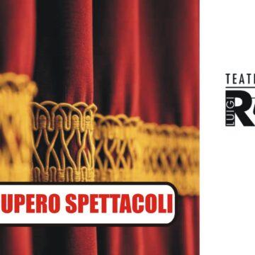 Recupero spettacoli stagione teatrale 2019/2020