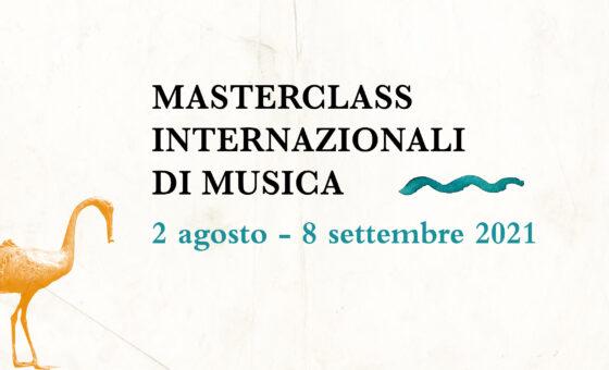 Masterclass Internazionali di Musica ed. 2021
