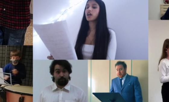 """""""Inno alla Gioia"""": Orchestra degli studenti della Scuola di Musica Santa Cecilia"""