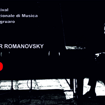 Festival 2021: concerto d'anteprima con Alexander Romanovsky. POSTI ESAURITI
